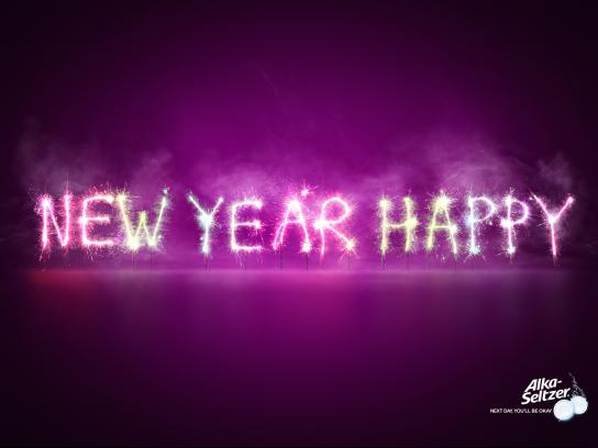 Alka Seltzer Print Ad -  New Year