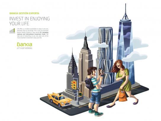 Bankia Print Ad - New York