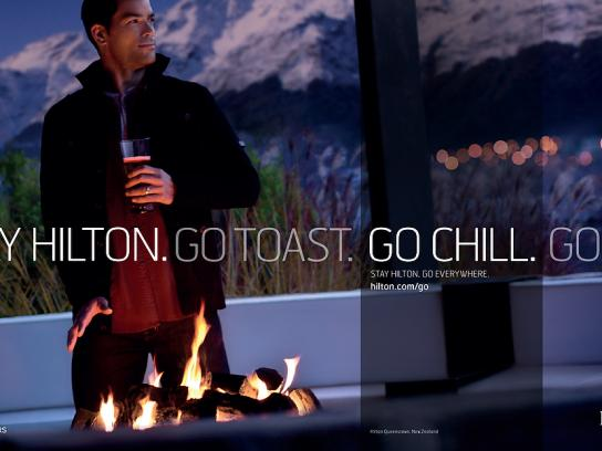 Hilton Print Ad -  New Zealand, 1
