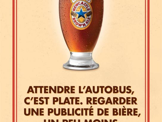 Newcastle Brown Ale Print Ad -  No Bollocks, 1