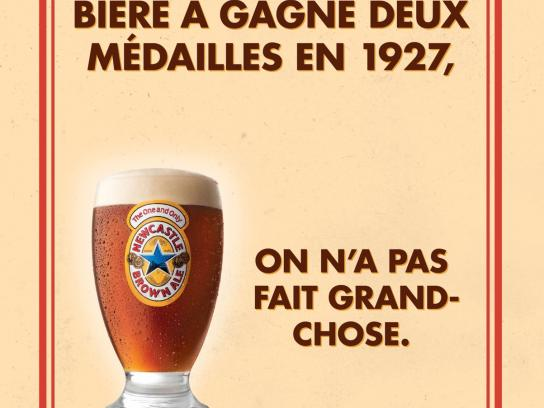 Newcastle Brown Ale Print Ad -  No Bollocks, 2