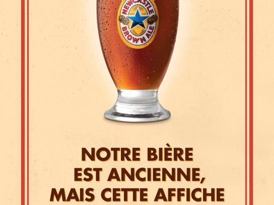 Newcastle Brown Ale Print Ad -  No Bollocks, 3