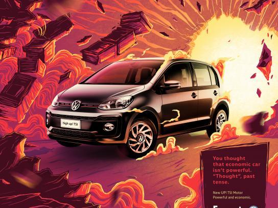 Fazauto Print Ad - New UP! Powerful and economic, 1