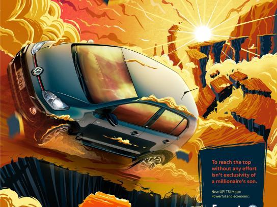 Fazauto Print Ad - New UP! Powerful and economic, 2