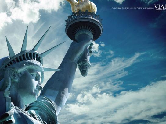 Viaje Mais Print Ad -  New York