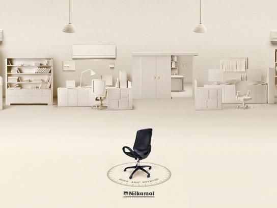 Nilkamal Print Ad -  Office
