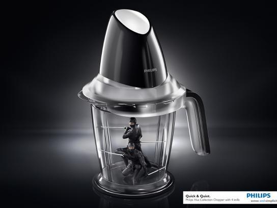Philips Print Ad -  Ninjas