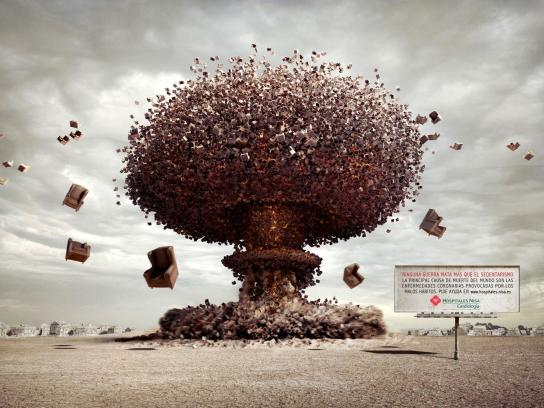 Nisa Hospital Print Ad -  Bomb