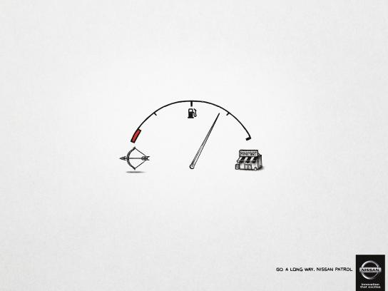 Nissan Print Ad -  Go a long way, 1