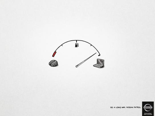 Nissan Print Ad -  Go a long way, 2