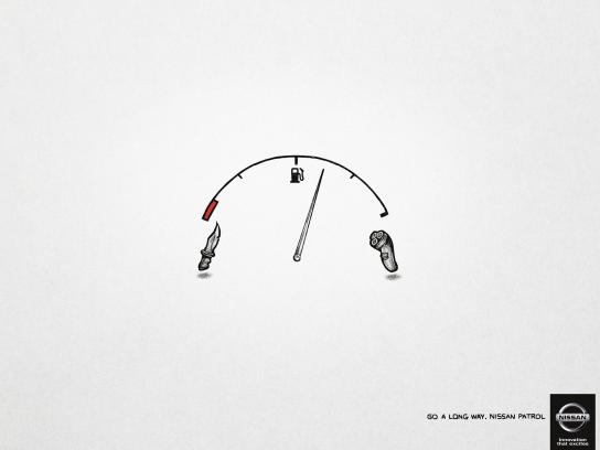 Nissan Print Ad -  Go a long way, 3