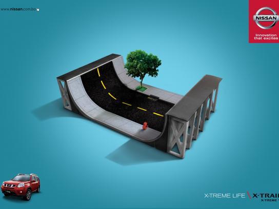 Nissan Print Ad -  X-treme life