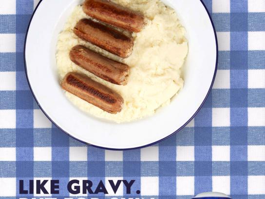 Nivea Print Ad - Like gravy, but for skin