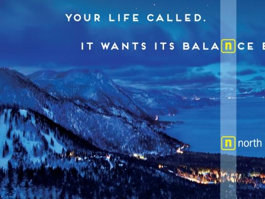 North Lake Tahoe Outdoor Ad -  Balance