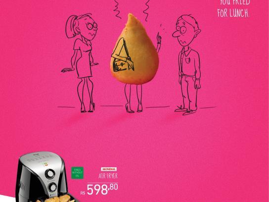 Novo Mundo Print Ad -  Smell of grease, 1