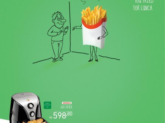 Novo Mundo Print Ad -  Smell of grease, 2