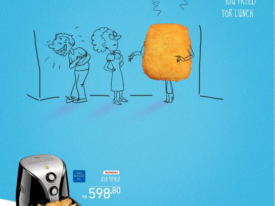 Novo Mundo Print Ad -  Smell of grease, 3
