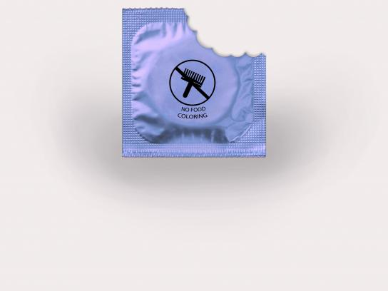 Durex Print Ad - No Food Coloring