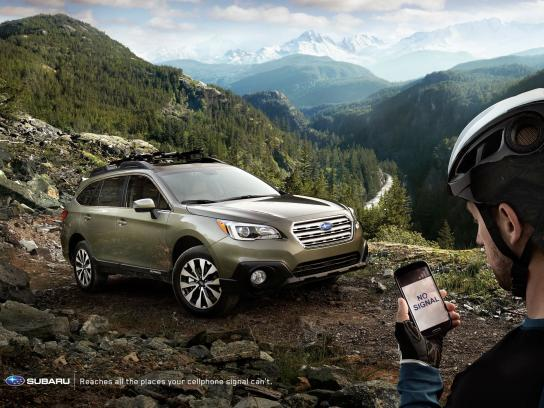 Subaru Outdoor Ad -  No signal