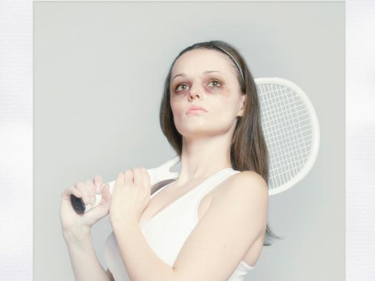 Nod and a Wink Print Ad -  Tennis