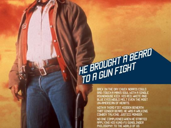 SKY Print Ad -  Chuck Norris