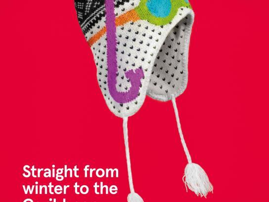 Norwegian Print Ad -  Norwegian knitwear, 2