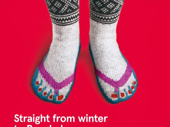 Norwegian Print Ad -  Norwegian knitwear, 3