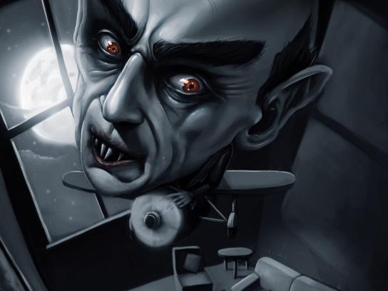 Tabard Print Ad -  Nosferatu