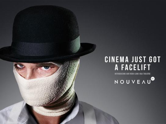 Cinema Nouveau Print Ad -  A Clockwork Orange