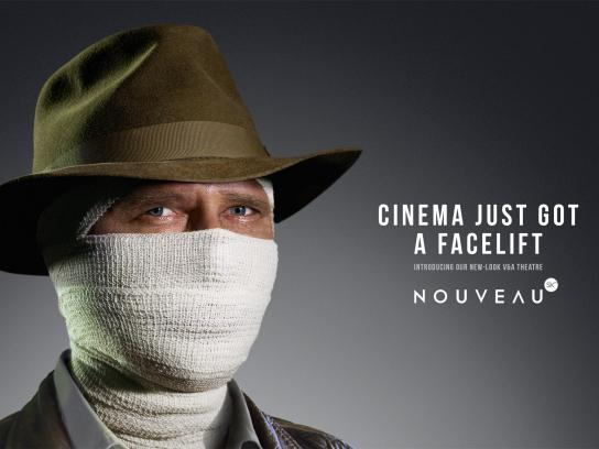 Cinema Nouveau Print Ad -  Indiana Jones