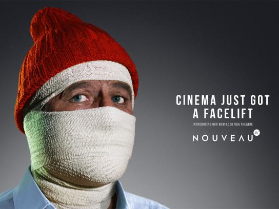 Cinema Nouveau Print Ad -  Life Aquatic with Steve Zissou