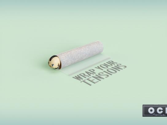 OCB Print Ad - Wrap Your Tensions - Your Daughter's Boyfriend