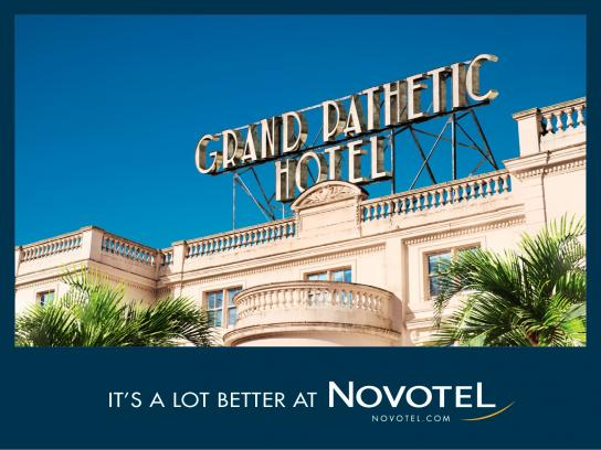 Novotel Outdoor Ad -  It's a lot better at Novotel, 2