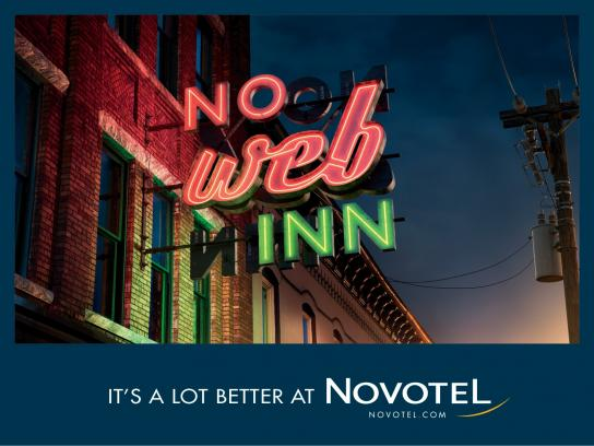 Novotel Outdoor Ad -  It's a lot better at Novotel, 4