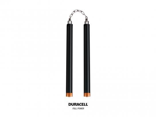Duracell Print Ad - Nunchaku