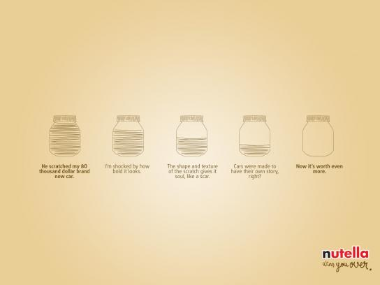 Nutella Print Ad - Nutella Wins You Over, 1