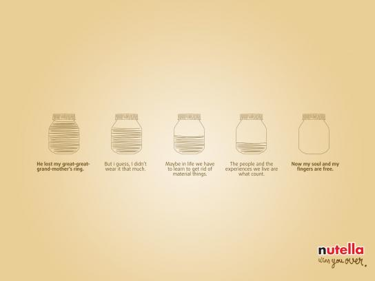Nutella Print Ad - Nutella Wins You Over, 2