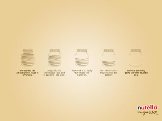 Nutella Print Ad - Nutella Wins You Over, 3