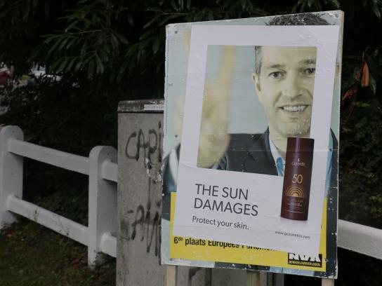 Gerard's Outdoor Ad -  Damage, 2