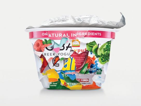 NYC Recycles Print Ad -  Yogurt