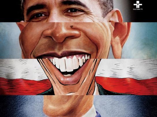 Cultura TV Print Ad -  Obama