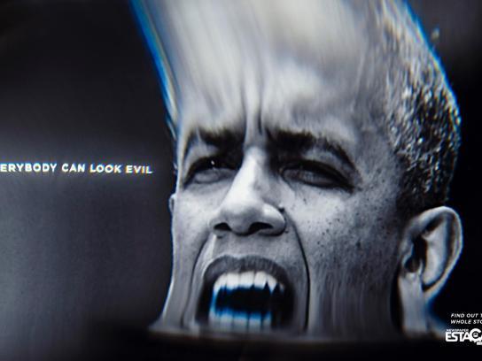 Estação Print Ad -  Obama