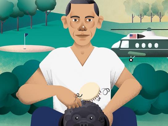 Jornal i Print Ad - Obama
