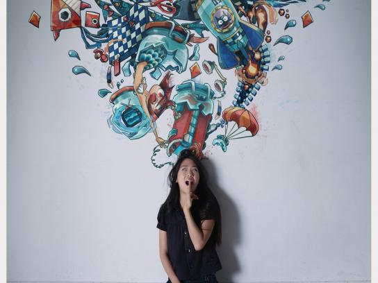 Ogilvy Creative School Print Ad -  Rianti