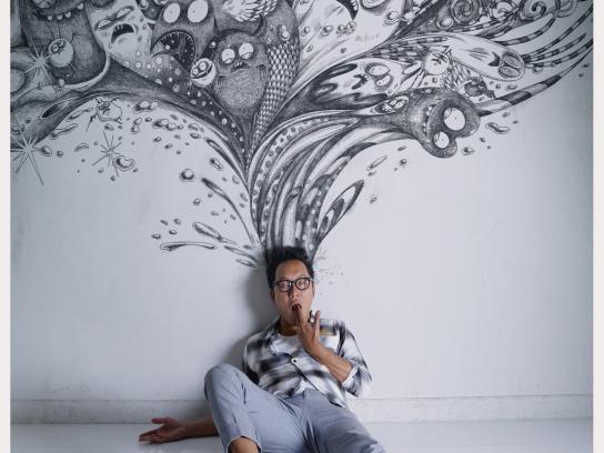 Ogilvy Creative School Print Ad -  Saki