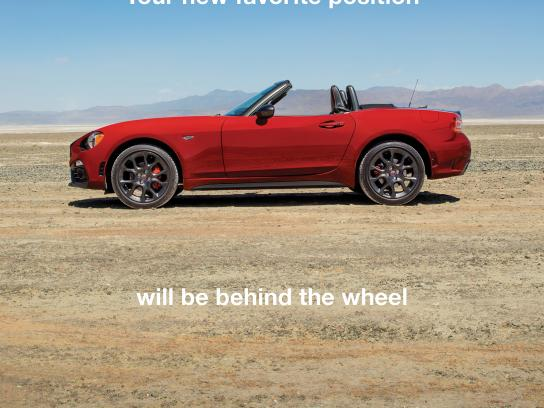 Fiat Print Ad - Favorite position