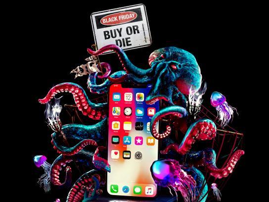 ALLO.UA Print Ad - Octopus