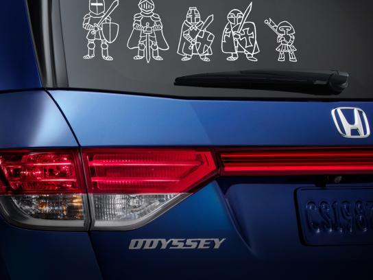 Honda Print Ad -  Safety