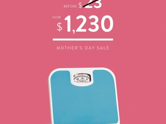 Oechsle Print Ad - Bath Scale