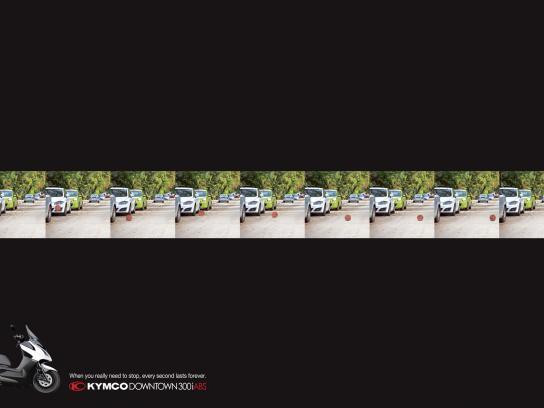 Kymco Print Ad -  Ball